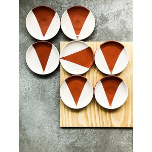 Grande Assiette Triangle