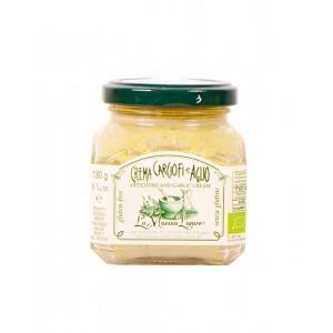 Crème d'artichauts et ail bio