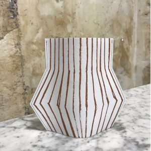 VASE JARRON STRIPED S