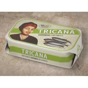 Pepper sardines