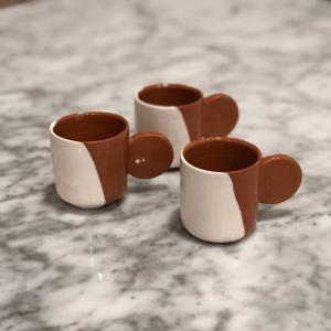 Tasse à Café Couleur Block