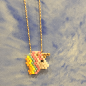 Unicorn necklace