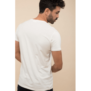 T-Shirt Mer Méditerranée Ecru