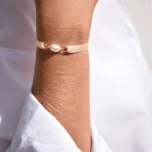 Bracelet Ruban de Satin