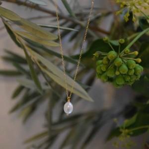 Collier Noailles Perle Blanche