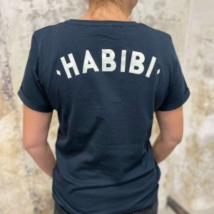 T-Shirt Habibi Bleu Marine