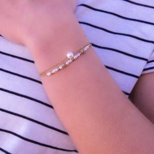 Bracelet Côte Bleue, Or &...