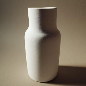 Grand vase blanc