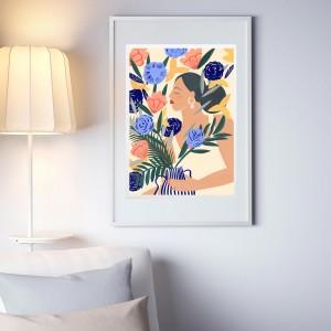 Affiche Encadrée Le Bouquet