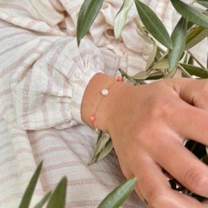 Bracelet grande Massalia Rose