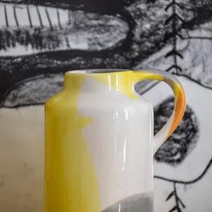 Jarre Multicolor Orange &...